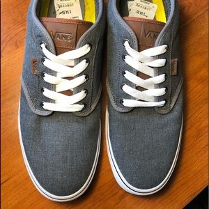 Vans Atwood Deluxe Ultra Cush Gray NWT size 13